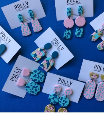 Statement Earrings – Polymer Clay Workshop