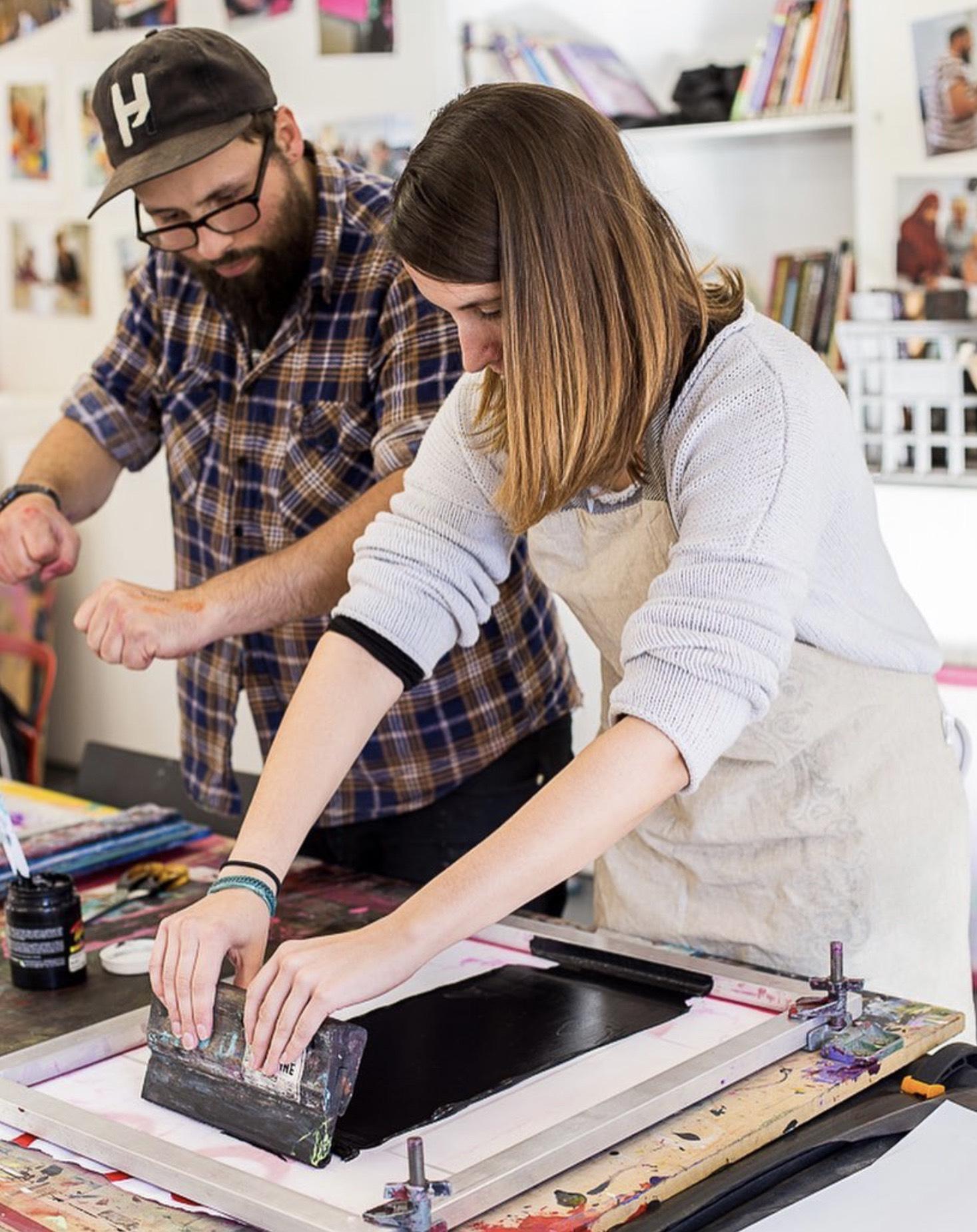 Intro to Screen Printing on Fabric