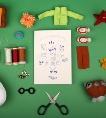 Make A Plush Toy With Cat Rabbit