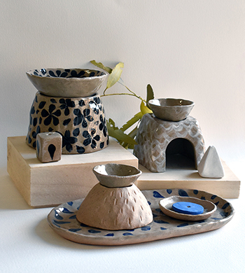 Hand Ceramics: Burners