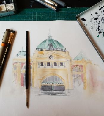 Urban Sketching & Illustration