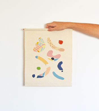 Quirky Cut-Outs Wall Hanging