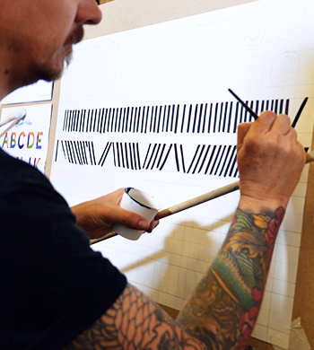 Intro to Sign Writing & Lettering