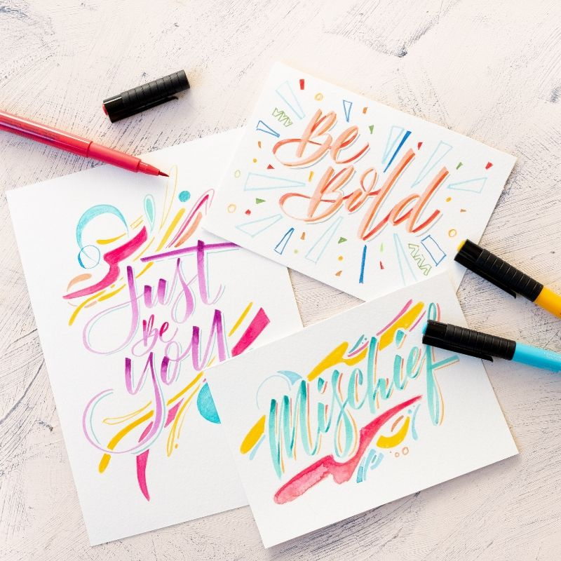 Brush Lettering with Joanna Chia