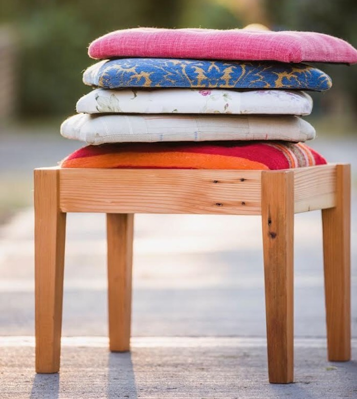 Footstool Flourish: An introduction to upholstery