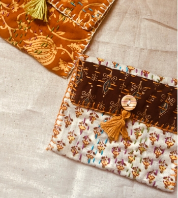 Intro to Indian Kantha Sewing & Embroidery