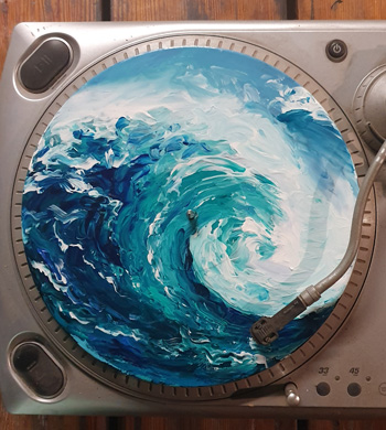 Rum and Records Painting  Workshop