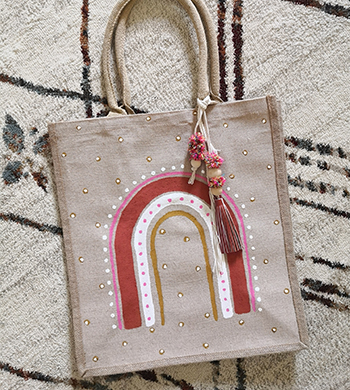 Paint a Summer Tote Bag