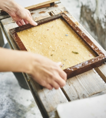 Paper Making: Reduce, Reuse, Recycle!