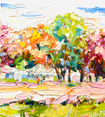 Mother's Day: Intro to Palette Knife Painting with Impasto