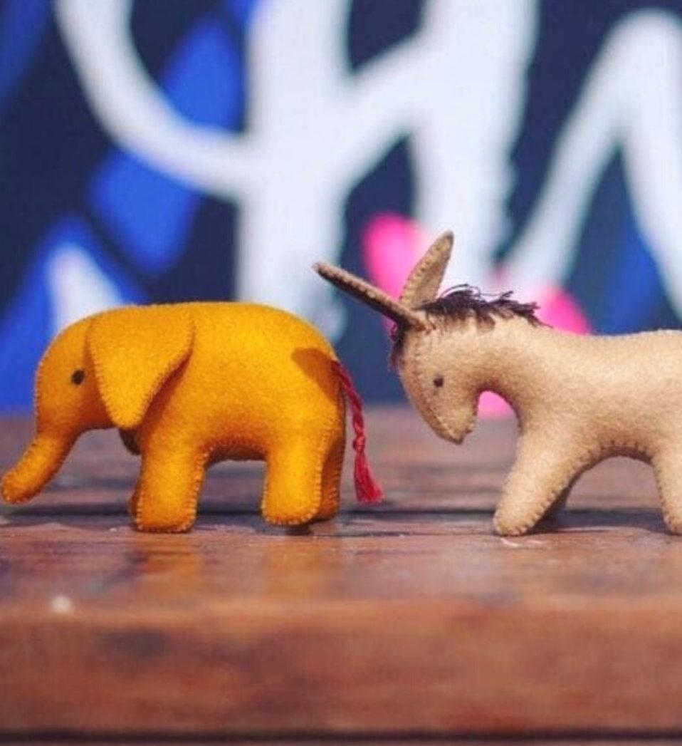Handmade Persian Felt Animals