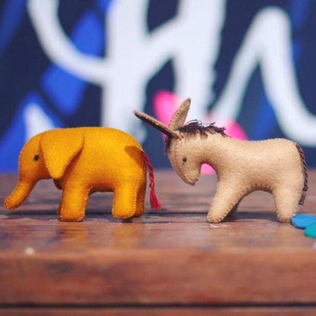 Handmade Persian Felt Animals – Mother's Day Edition!