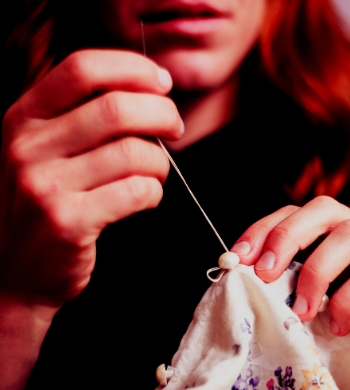 Darn it! Clothing repair & mending for beginners
