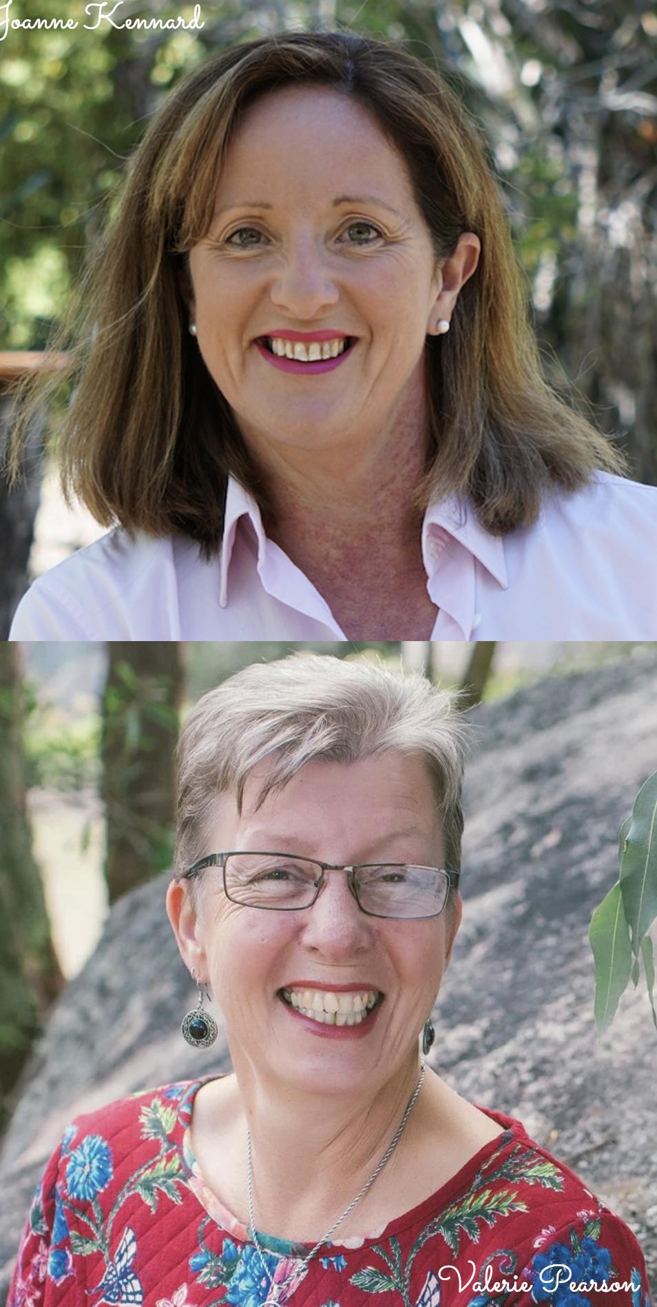 Valerie Pearson & Joanne Kennard