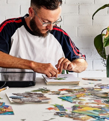 Cut, Paste, Create! Collage Masterclass with Max Malone