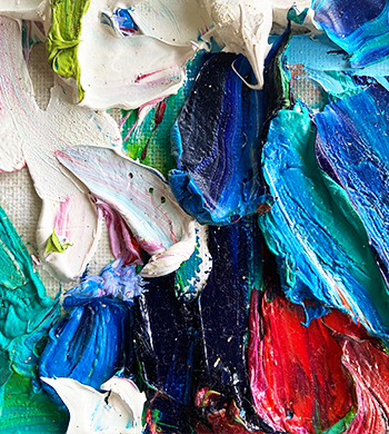 Intro to Palette Knife Painting with Impasto
