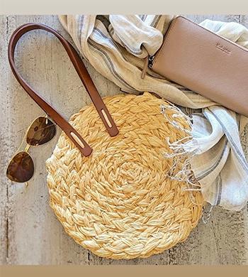 Weave a Raffia Bag