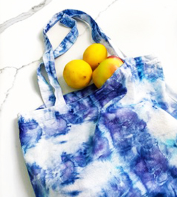 Ice Dyeing On Fabric